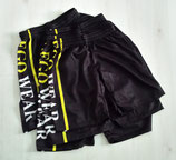 EGO WEAR BLACK SHORTS