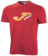 JOMA T-SHIRT CAMPUS 65POLY-35COTTON RED 2101.33.1035