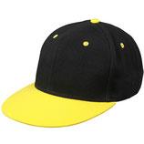 Myrtle Beach Snapback schwarz/gelb