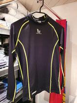Vansydical Kompressionsshirt Langarm schwarz/gelb