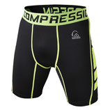 VANSYDICAL COMPRESSION SHORTS SCHWARZ/GELB