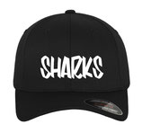 SHARKS CAP BLACK