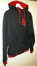 RJ HOODY JACKET BLACK/RED