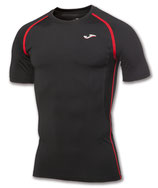 T-SHIRT HYBRIDO BLACK/RED 100423.106