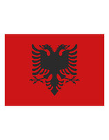 Fahne Albanien 90 x 150 cm