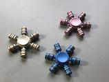 Fidget Spinner, Fokus Spielzeug, Gold, Blau oder Rosa