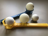 Atemtrainer - Flow- Ball - Partner- Spiel- Set mit 4 Bällen