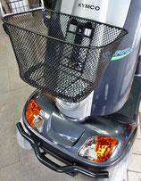 Korb vorn komplett mit Halter passend für Shoprider, Freerider, Kymco etc.