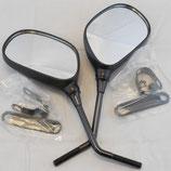 Außenspiegel-Satz mit 8mm Befestigung und Schellen TE-778-889DXS