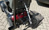 Lastenträger mit Befestigungsgummiband, abnehmbarer Korb mit Henkel und Stockhalter