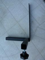 L -Plus-Halter einzeln Sitzaufnahme für Heckmarkierungstafel oder Korb und Stockhalter