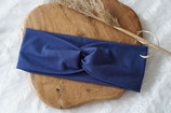 H012-Headband *BASIC Jeansblau*