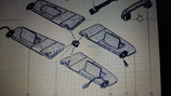 Parasole Renault Megane Scenic sinistra - 8200247960