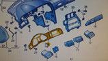Mascherina strumentazione Audi A6 - 4F1857115ER66
