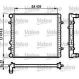 Radiatore Seat Ibiza, Leon -  1J0121253AM - 1J01212534-K