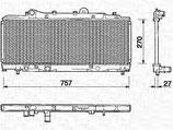 Radiatore Lancia Ypsilon - 7785122