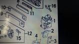 Serratura adx Audi 100 - 4A1837016G