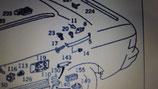 Modanatura parafango pdx sup mercedes mod 124 berlina 1246980230 € 33.64 netto  £ 10