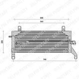 Condensatore Fiat Punto TSP0225005
