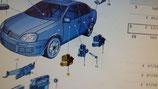 Motorino alzacristallo VW Jetta asx - 1K0959701LMX3