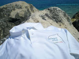 Maglietta Polo da uomo bianca Cetaceansound-Italy.Org