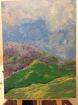 Öl Malerei : Landschaft