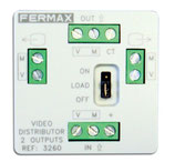 3262 Distribuidor Fermax Mini Vídeo 4S