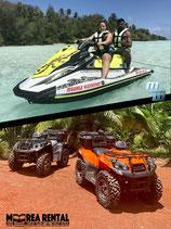 Combo 3h jet ski + 4h ATV