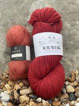 Leela Cardigan - Yarn kits / Wollpakete - Botanically dyed