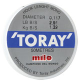 Milo HOOK LENGHT by TORAY 50m Art.455TR00