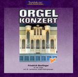Friedrich Storfinger an der Orgel zu St. Lambertus