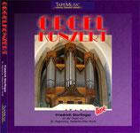 Friedrich Storfinger an der Orgel zu St. Hippolytus, Gelsenkirchen-Horst