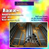 Rolf von Ameln spielt Jazz-Improvisationen auf der Orgel der Herz-Jesu-Kirche Bottrop. Rein Analoge Aufnahme!