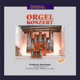 Friedrich Storfinger an der Orgel zu St. Mariä Geburt