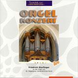 Friedrich Storfinger an der Orgel zu St. Hippolytus