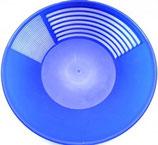 New Pioneer Blue Gold Pan -- 16'', blau XXL Goldwaschpfanne