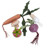 Sebra Food mit Gemüse aus Holz