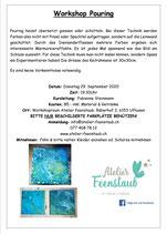 Workshop Pouring 29. September 2020 / 19.30Uhr