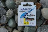 Forellenhaken von Maruto, gebunden