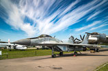 MiG-29 and the clouds