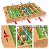 Holz-Tisch-Kicker - Tisch-Fußball