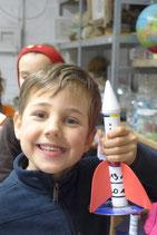 Kindergeburtstag Rakete