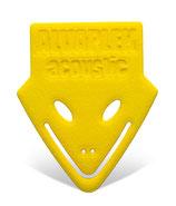 Alvaplek acoustic Gelb - Reines Strumming Pick. Soundrefresher in Norm. Größe