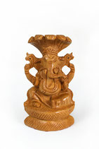 Wood Ganesh পঞ্চমুখী