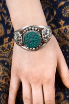 Green Amulet Armreif
