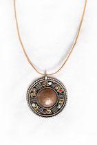 ཨོཾ་མ་ཎི་པ་དྨེ་ཧཱུྃ Amulett গোল