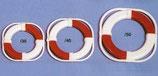 Aeronaut Reddingsboei Rood/Wit