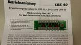 lauer LBS 40 2040 Wisselterug melding