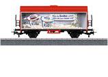 """Marklin 44217 Märklin Start up - koelwagen Voorbeeld: Privé-wagen in de vormgeving van """"Müller Milchreis"""" van Molkerei Alois Müller GmbH & Co. KG in Fischach-Aretsried."""