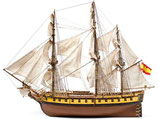 14007 - NS Mercedes Spanish Frigate 1:85
